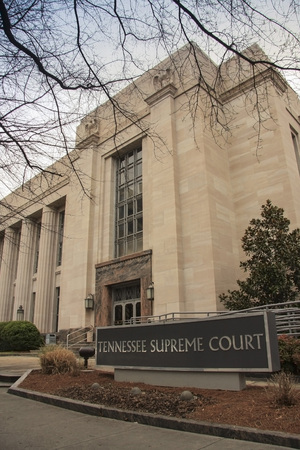Knoxville, Tennessee; March 28, 2009 The Eastern division of the Tennessee Supreme Court is located in this building with its beautiful architecture