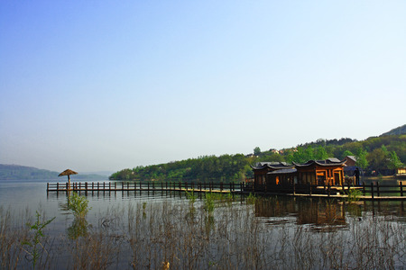Tianquan Lake at Xuyi, Huaian