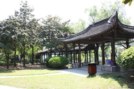 jiangsu: Qing Yan Garden in Huaian City, Jiangsu Province, China.