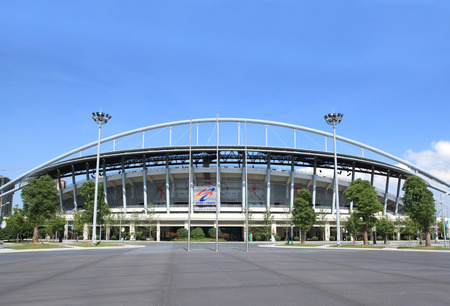 deportes olimpicos: Jiangsu Huai'an Centro Deportivo Olímpico Editorial