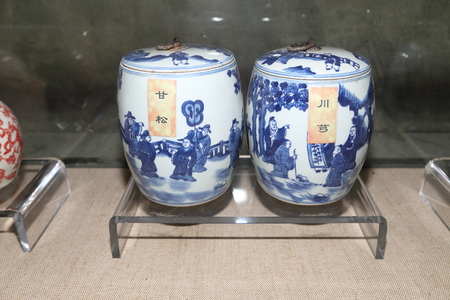 ancient prison: porcelain container,Huaian House Department Editorial