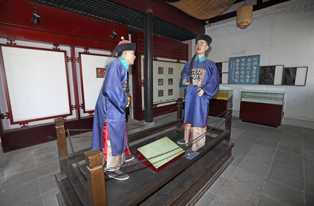 impartiality: Li Yuchang wax statue