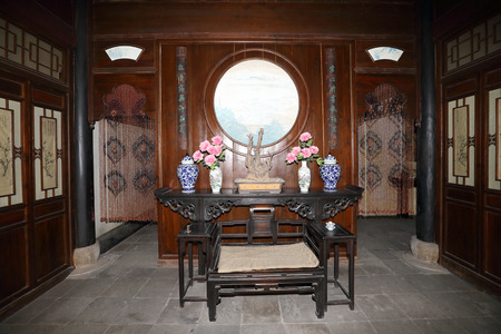 old furniture: Department of Huai Prefecture jade Hall Editorial