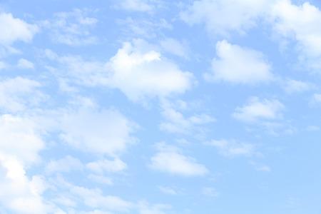 phenomena: Blue sky and white clouds Stock Photo