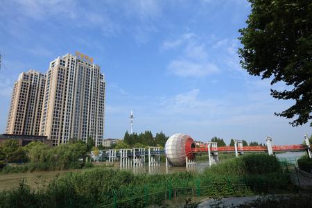 demarcation: building landscape
