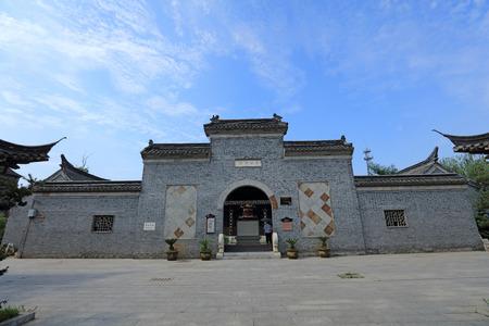 song dynasty: Liang Hongyu ancient building