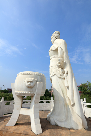 song dynasty: Liang Hongyu statue
