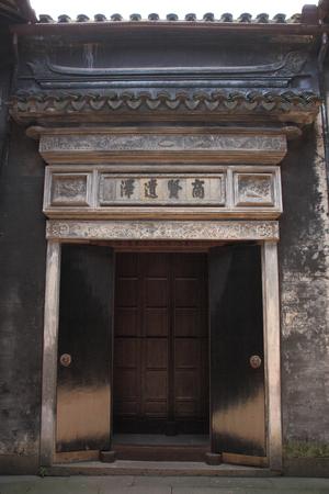 gatehouse: Tongli ancient town of brick gatehouse Editorial