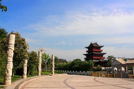 pu: Qingjiang Pu building