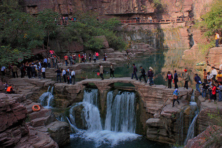 redstone: World Geological Park - Yuntai Mountain