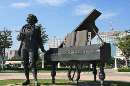chopin: The statue of Chopin