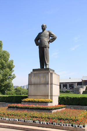 Zhou Enlai statue Editorial