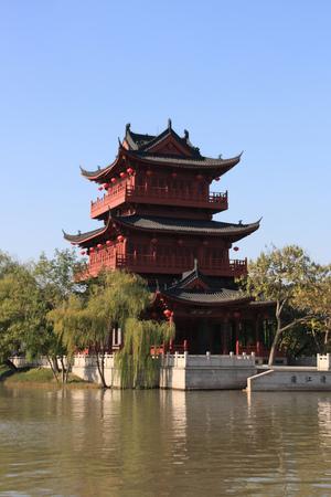 Qingjiang Pu Lou Banco de Imagens - 89315556