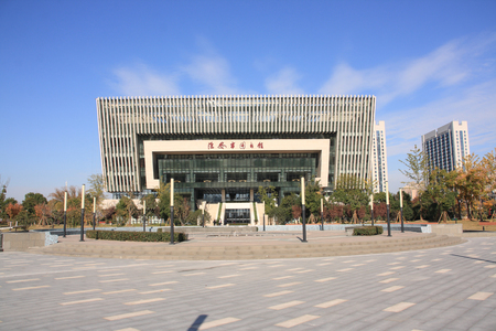 Huaian library Library Editorial