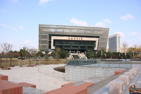 building of Huaian library