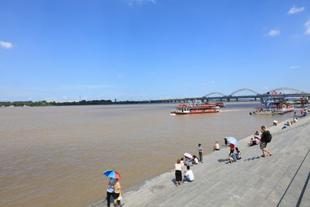 Songhua River scenery