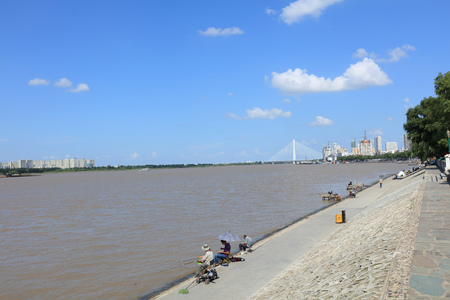 Songhua River Stock Photo