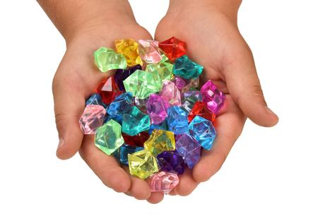 stones gems Stock Photo