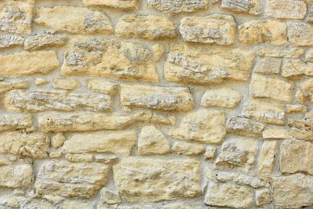 Stone wall. Brick texture. Old facade.