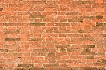 Stone wall. Old facade. Brick texture.