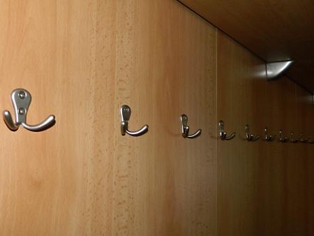 hooks in the locker room Stock Photo - 16694825