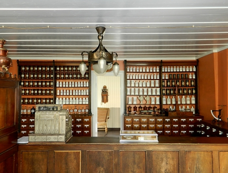 old care: Old Pharmacy