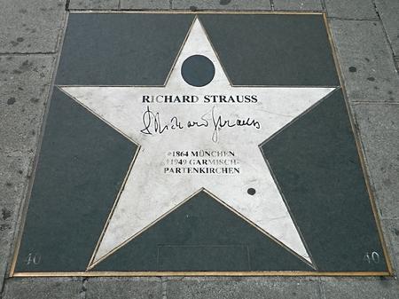 richard: walk of fame Strauss