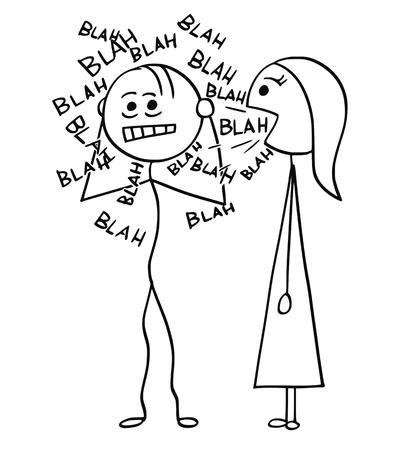 漫画スティック男の描画
