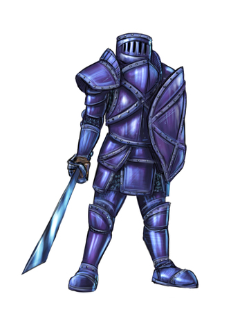 Digital Painting Swordsman Concept Art