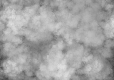 Smoke or steam effect for mist, smog, air pollution or concert stage atmosphere background