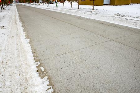 telegraph hill: Asphalt pavement