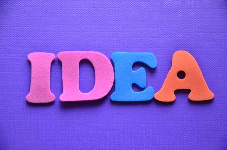 pursuing: Word idea Stock Photo