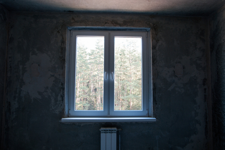 remount: window in a new apartment without repair