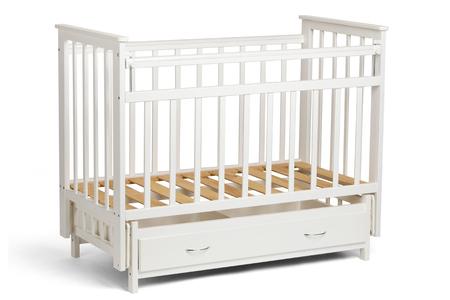 Excelente Cuna Del Bebé Con Muebles De Almacenamiento Composición ...