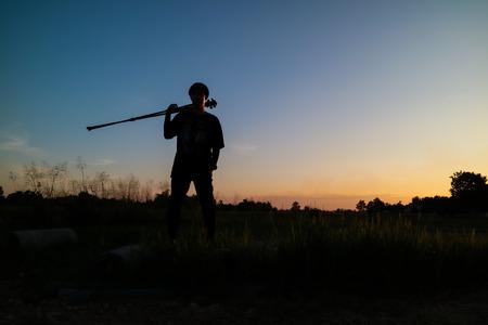 styler: Nature photographer Stock Photo