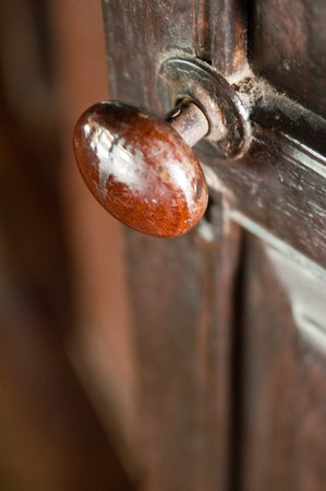 Thai's old style doorknob Stock Photo - 7000373