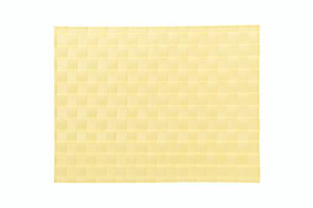 luncheon: Yellow mat