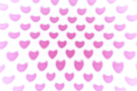 fluctuation: Pink heart pattern
