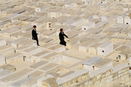 jewess: cemetery in Jerusalem   Israel