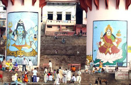 Hindu tample   Varanasi