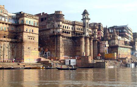 boatman: Ganges River  Varanasi  India