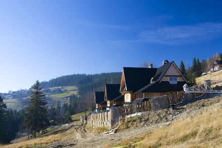 oscypek: Traditional house in Zakopane
