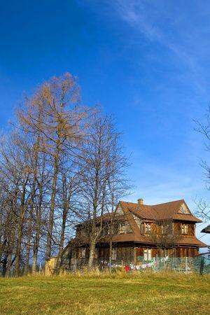 Traditional house in Zakopane Stock Photo - 3903958