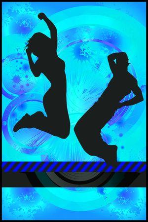 Dance event background photo