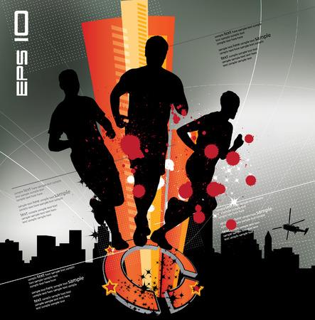 sports and recreation: Sport Vector illustration Illustration