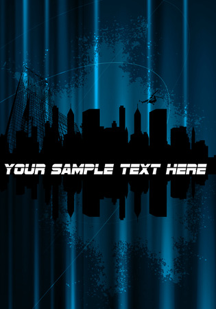 City Stock Vector - 8968142