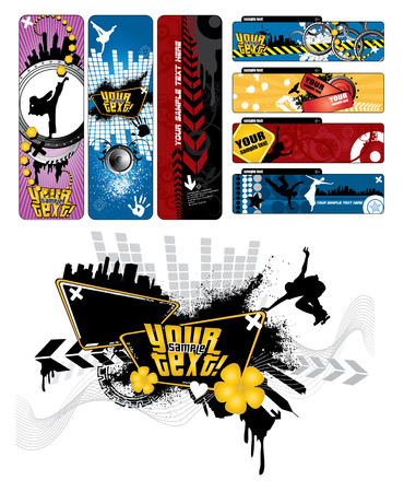 Banners set Stock Vector - 8980006