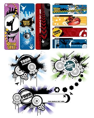 Banners set Stock Vector - 8980007