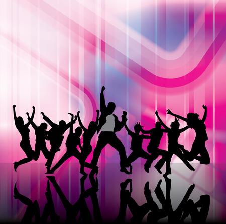 urban youth: Urban music background