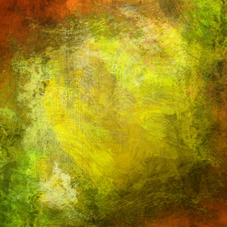Abstract art backgrounds. Hand-painted background Stock Photo - 9090010